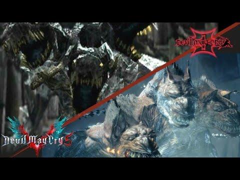 Devil may cry  Cerberus VS  King Cerberus | (Cut scene) |