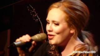 Adele - 10. Rumour has it - Full Paris Live Concert HD at La Cigale (4 Apr 2011)
