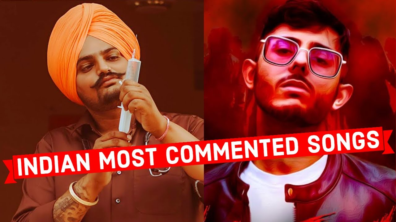 Top 20 Most Commented Indian Songs on Youtube of All Time