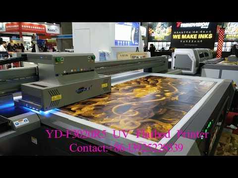 3D effect by Yotta uv flatbed printer YD-F3020R5,large format printer size:3*2m