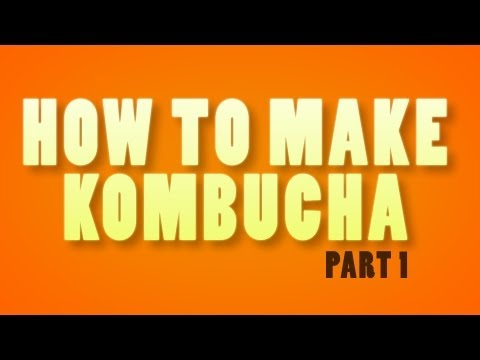 """How To Make Kombucha Tea At Home"" by @GetKombucha (1 of 2)"