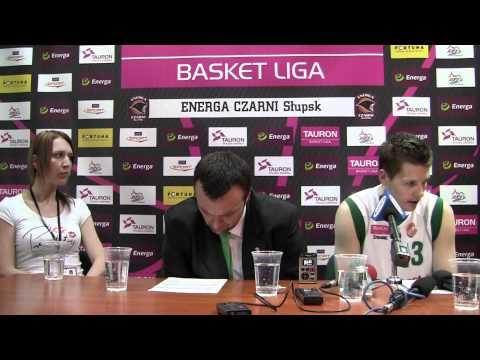 Mihailo Uvalin i Kamil Chanas po 4 meczu z Czarnymi