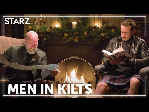 Men in Kilts   Sam & Graham Yule Log   STARZ