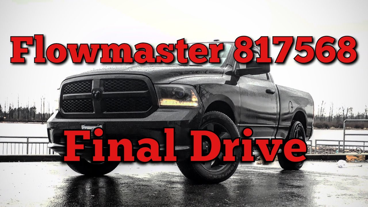 512410f698c Truck Mods! - Flowmaster 817568 Final Drive - YouTube