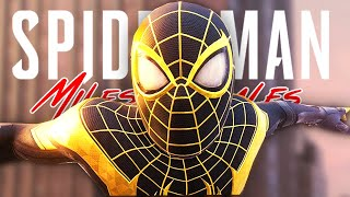 Unlocking GOLD SPIDERMAN Suit in Spider-Man Miles Morales PS5!