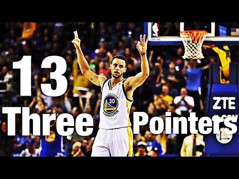 Klay Thompson sets NBA record for most 3s in a game (14 ...