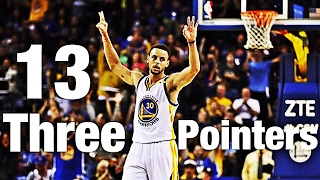 NBA Players Most Three Pointers in a Game