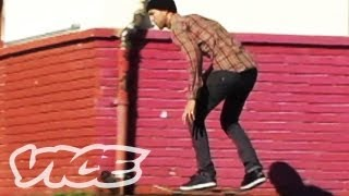 Skateboarding with Andrew Reynolds