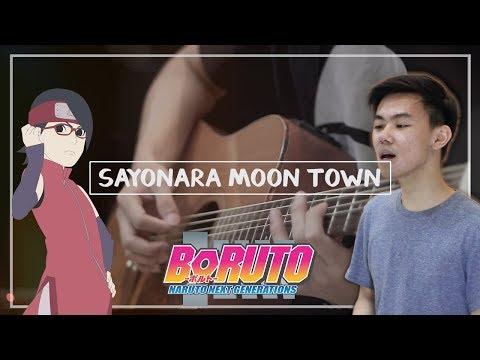 Scenarioart - Sayonara Moon Town (Acoustic Cover) | Boruto: Naruto Next Generations ED 2