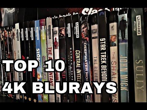 TOP 10 4K BLURAY MOVIES