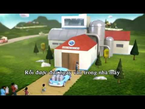 Quảng cáo sữa Cô Gái Hà Lan mới nhất 2013