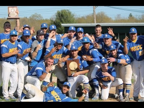Northern Essex Community College baseball celebrates berth in College World Series, 2014
