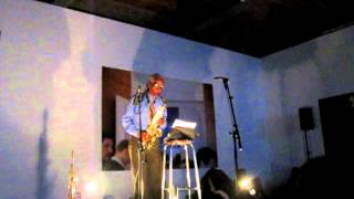 Roscoe Mitchell solo saxophone, live at KRAAKfestival, Belgium, 2012-03-03 [part1/5]