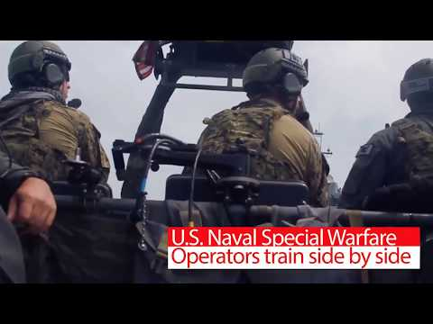 Exercise Sea Breeze 2017 - SEALs conduct VBSS Ops