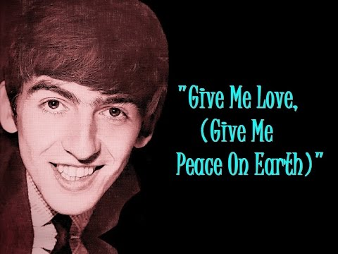 """Give Me Love, (Give Me Peace On Earth)"" (Lyrics) 💖 GEORGE HARRISON ॐ Live In Japan"