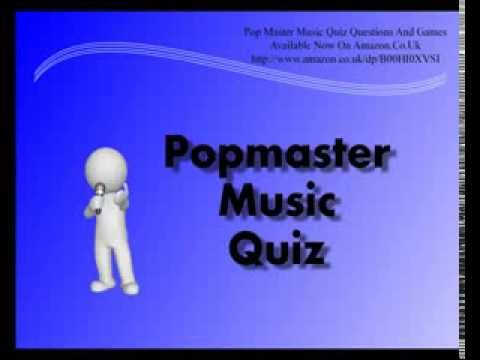 Pop Master Music Quiz Questions And Games