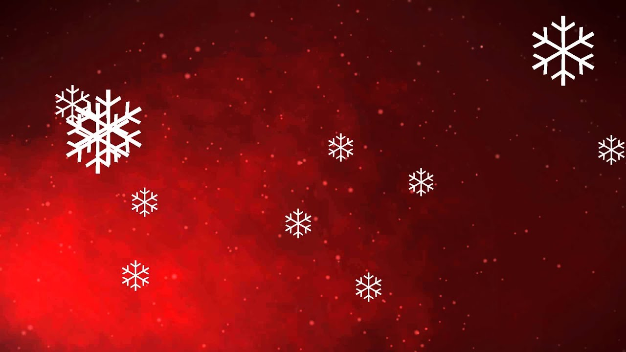 christmas snowflakes backgrounds - free animation footage - youtube
