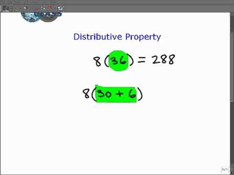 What is The Distributive Property
