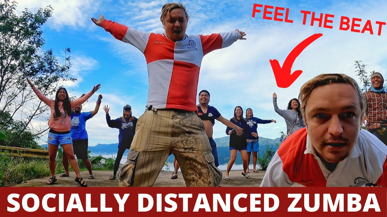 SOCIALLY DISTANCED ZUMBA (Daot Style at Davao Sea of Clouds Mountain)