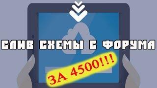 Схема заработка за 4500 рублей. Простой заработок в интернете