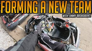 Forming A Karting Team with Jimmy Broadbent