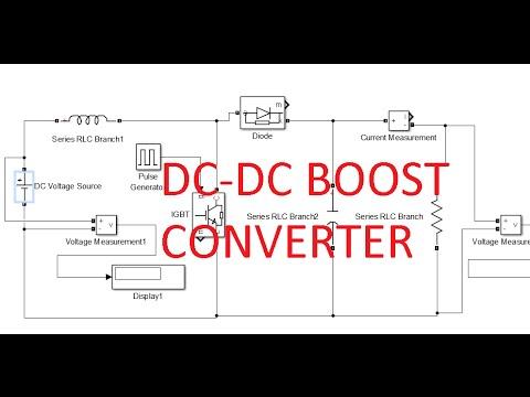 dc dc boost converter simulink model youtube box step turn