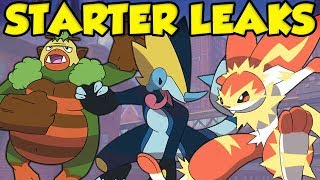 NEW STARTER EVOLUTION LEAKS COULD BE REAL! BEST Pokemon Gen 8 Starter Evolution Leaks!