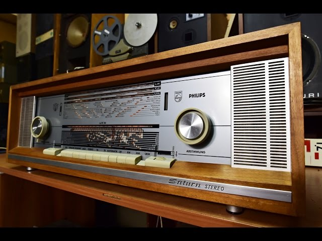 Top Vacuum Tube Valve #STEREO Radio PHILIPS SATURN 851 #Verstärker #vintage