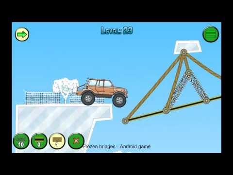 Frozen bridges Android free / Замерзшие мосты Андроид бесплатно