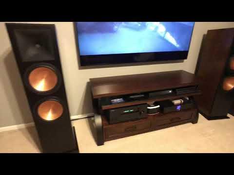 Klipsch RF-7 III movie sound test Ready Player One