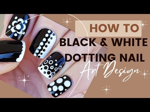 Black & White Dotting Design