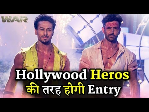 Hrithik Roshan and Tiger Shroff Hollywood Hero Style Entry in War