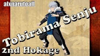 How to draw characters naruto (Tobirama Senju -2nd Hokage-)