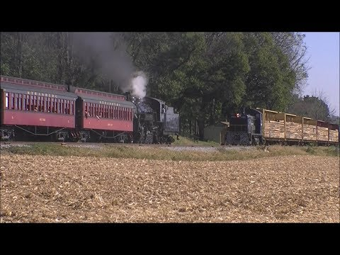 Fall Freight And Passenger Operations On The Strasburg Railroad