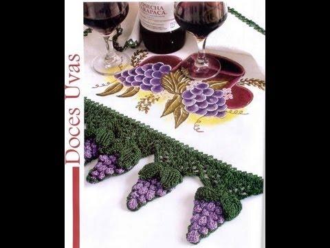 Camino de mesa tejidas en crochet youtube for Camino de mesa a crochet