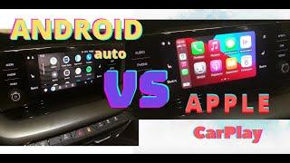 Шкода Октавия А8: разбор андроид авто и эпл карплей + Бонус в конце