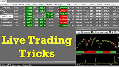 How To Trade and Book Profit in Share Market Live Video || Live Share Trading Tricks -