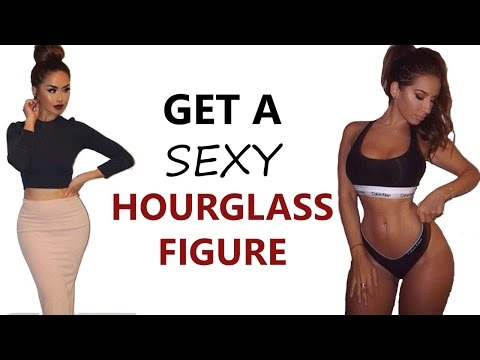 How To Get An Hourglass Figure ♡ | 4 Exercises To Get Sexy Mesmerizing Curves!