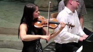 Brahms Violin Sonata in D minor No.3 - movements 2,3,4 - Lana Trotovsek & Simon Lane