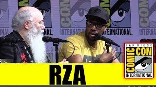 RZA | Comic Con 2018 Full Panel (w/ Ric Meyers)