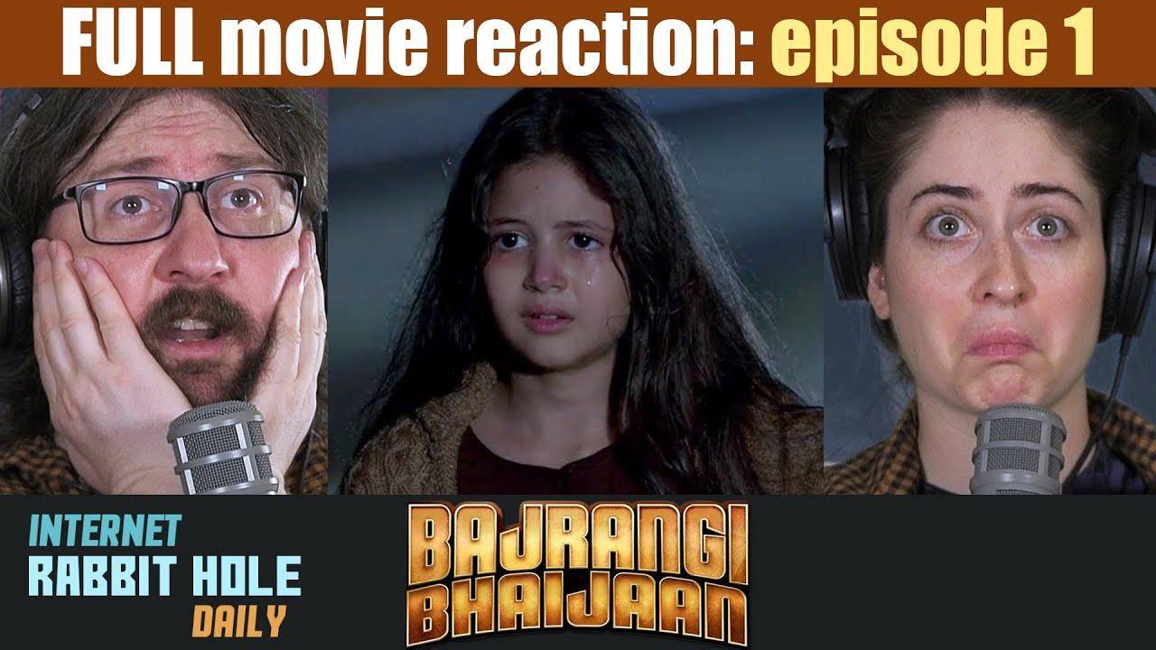 Download Bajrangi Bhaijaan   HINDI   FULL MOVIE REACTION SERIES   irh daily   EPISODE 1