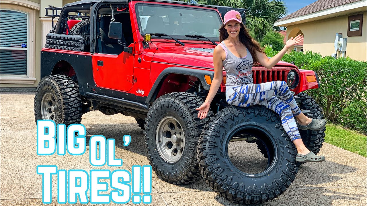It's UPGRADE Time!!  37s On My Jeep Wrangler