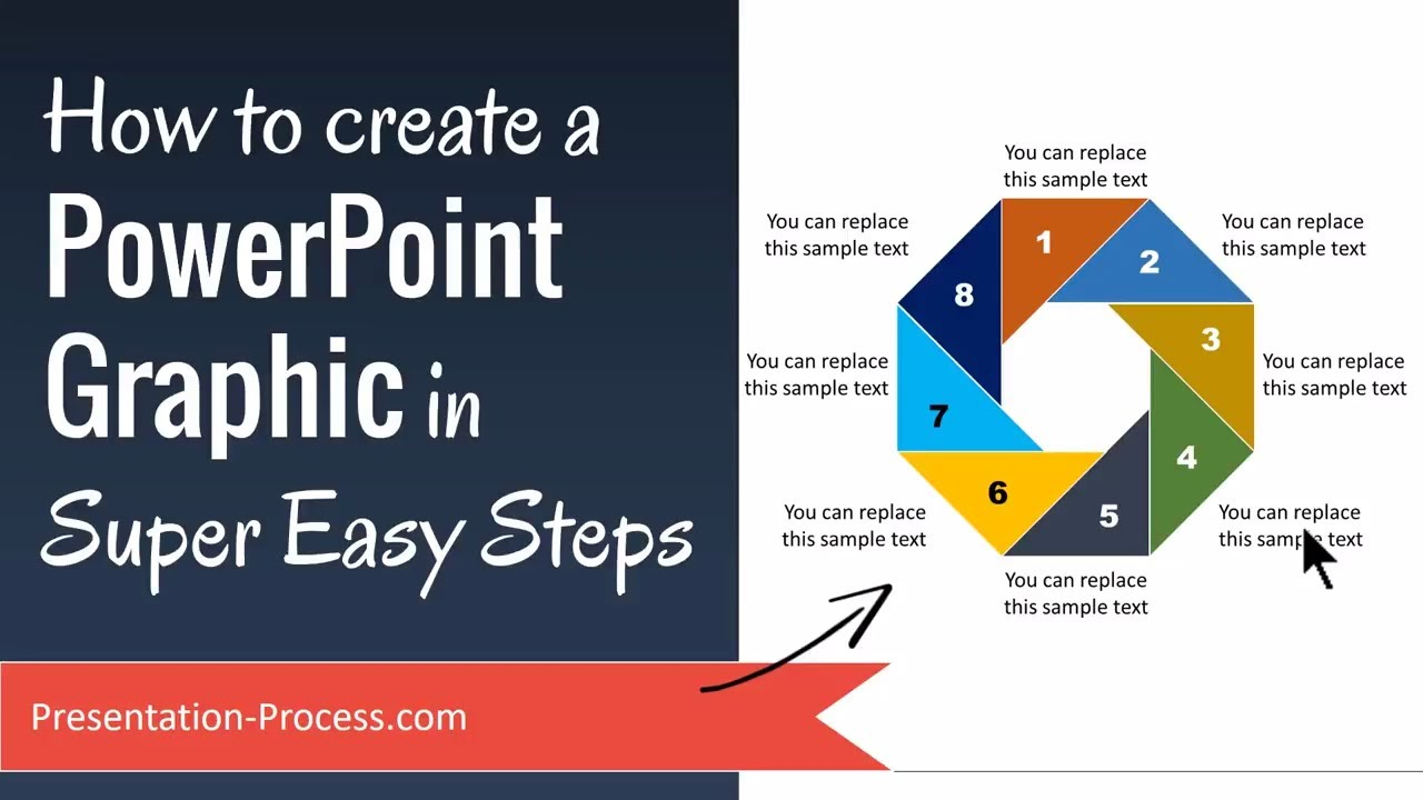 how to create a powerpoint graphic in super easy steps youtube