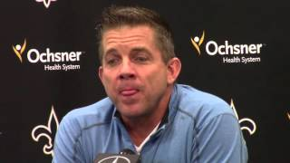 Sean Payton on Jay Glazer report about Mickey Loomis talks | Video