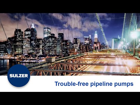 Customer Partnership - Pipeline Pumps for Trouble-Free Operation