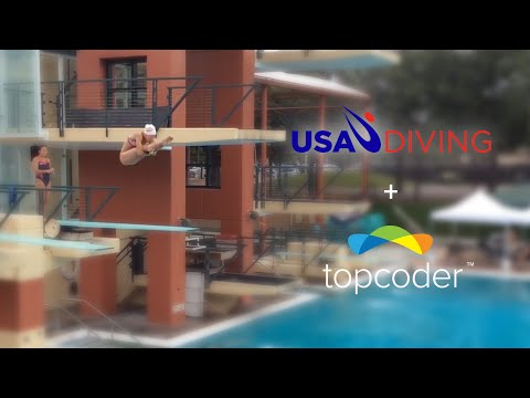 Topcoder Mobile App Crowdsourcing Case Study - USA Diving iPad App