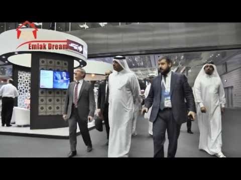 Katarlı Bakan Al Rumaihi'nin fuar ziyareti