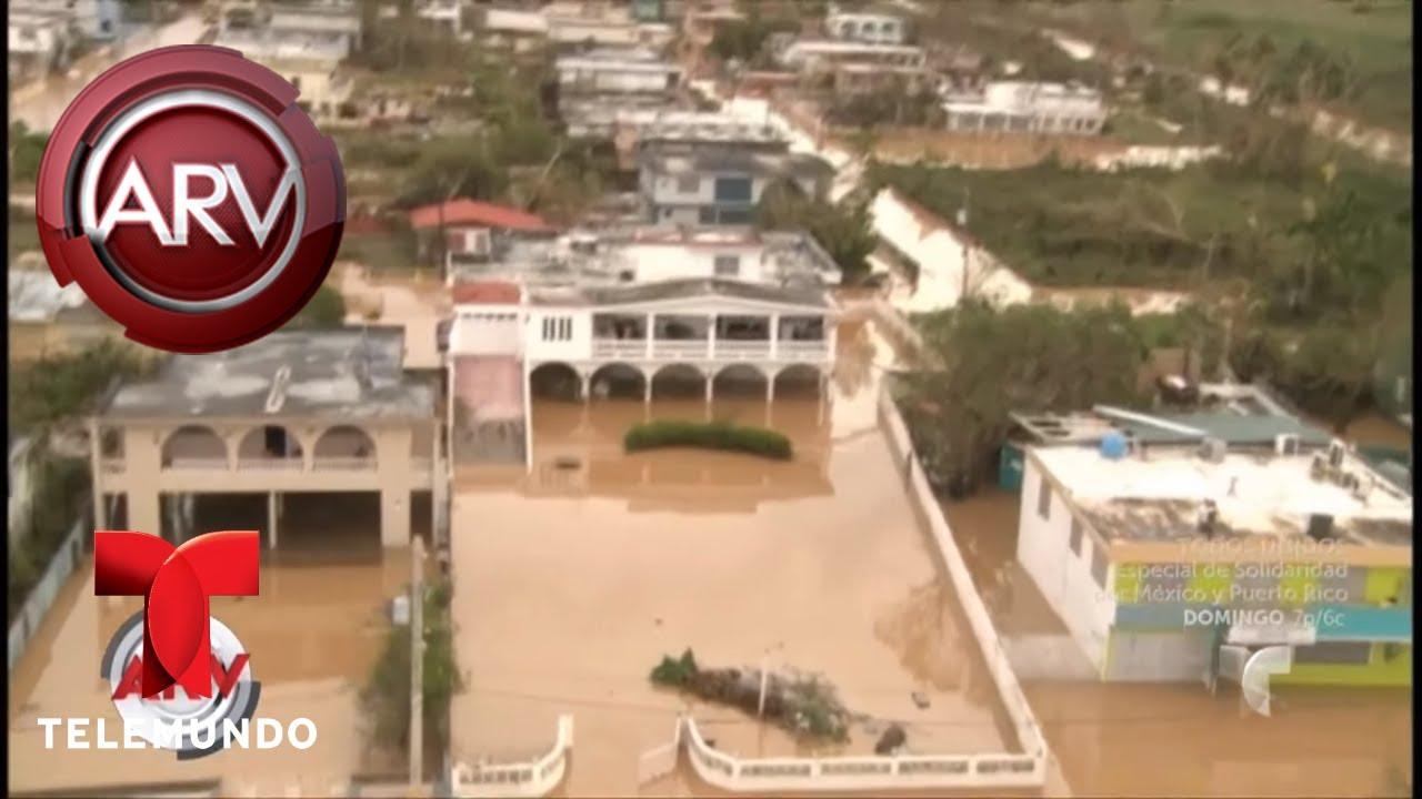 Imágenes desoladoras de Puerto Rico luego del huracán | Al Rojo Vivo | Telemundo