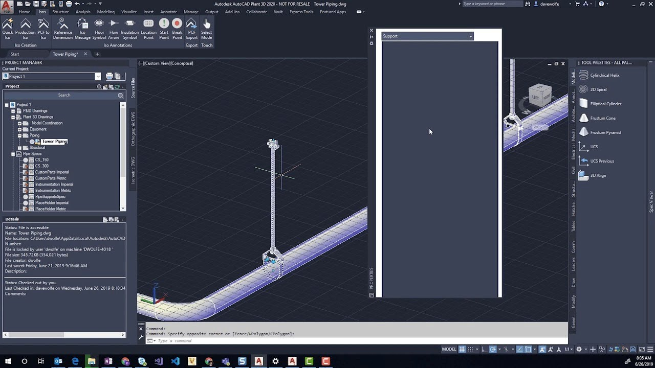 Steel Supports | Applied Software