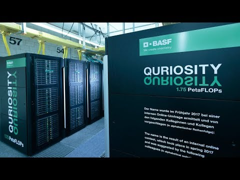 Supercomputer QURIOSITY - Ein neues Kapitel in der BASF-Innovationsgeschichte